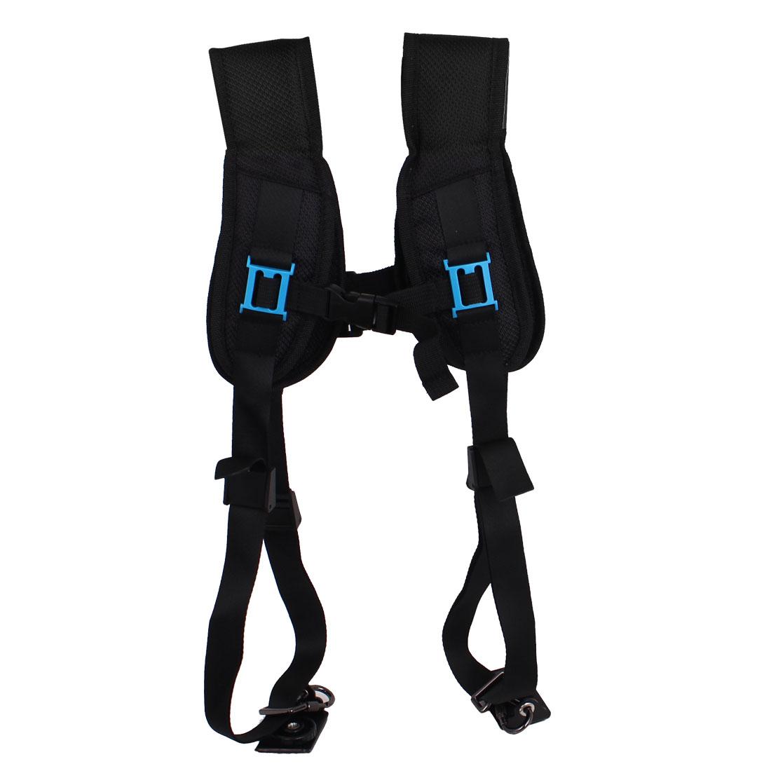 Professional Quick Release Double Shoulder Belt Strap for 2 Cameras SLR DSLR