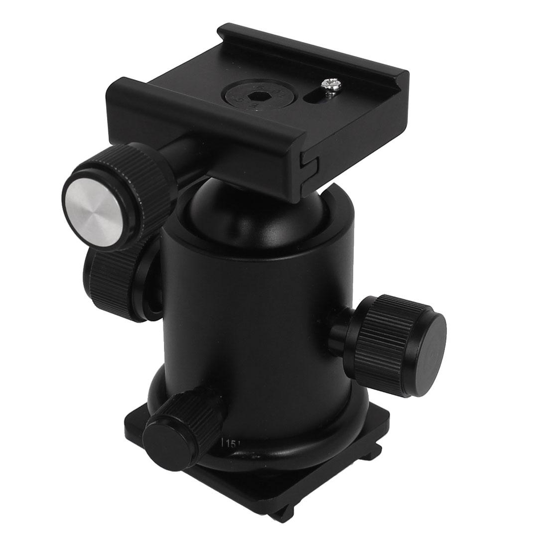 Flash Bracket Hot Shoe Umbrella Holder Mount Light Stand For DSLR Camera D Type