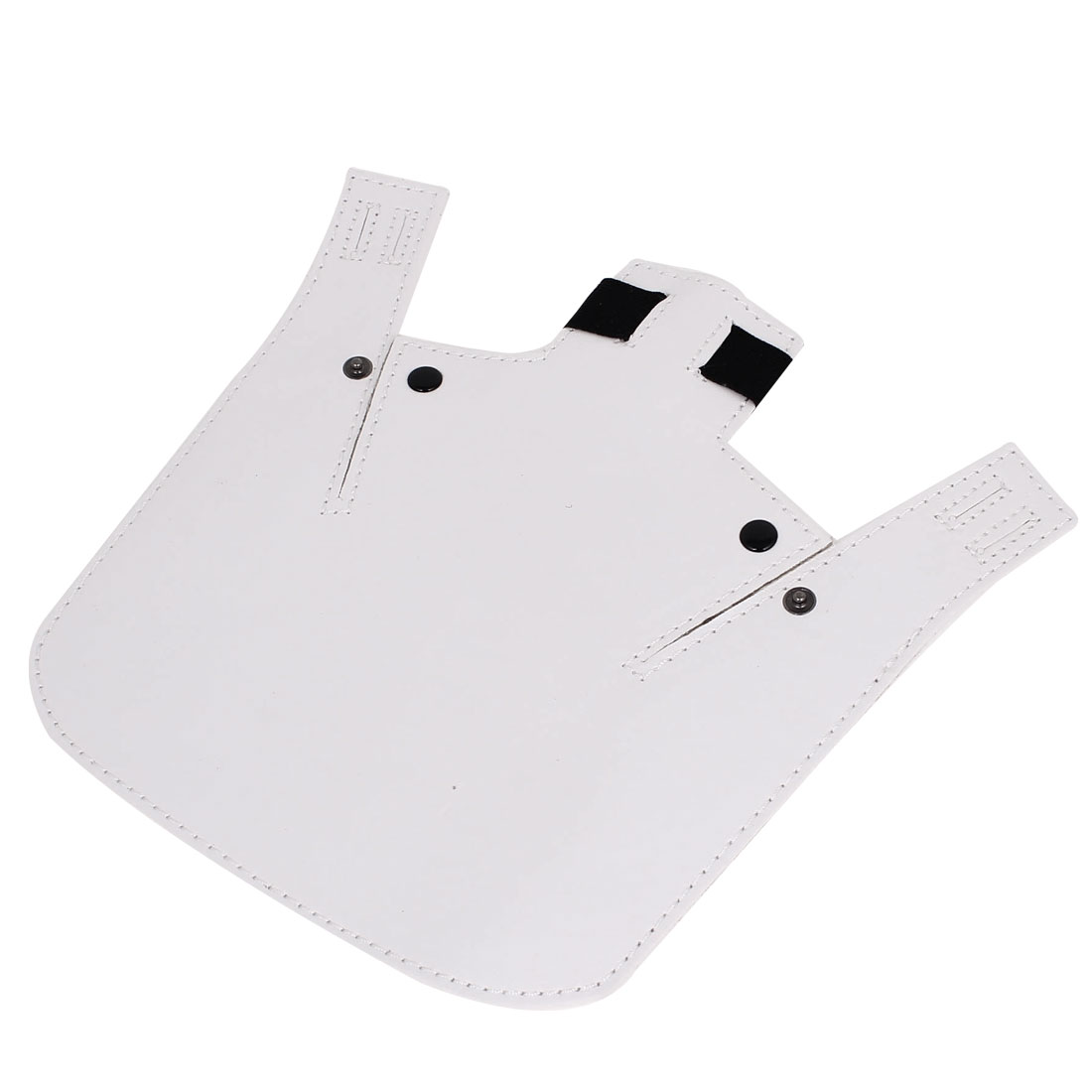 White Faux Leather Shovel Shaped Flash Reflector Board for SLR DSLR Camera
