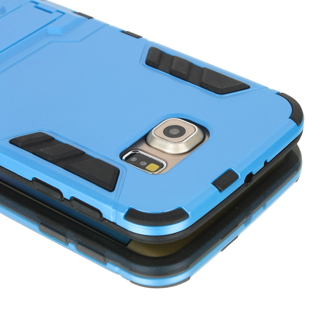Urban Armor Gear UAG Rugged Tough Protective Phone Case/Cover+Case Stand for Galaxy S6 Blue