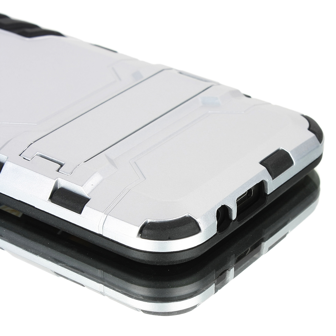 Luxury Shockproof Dirtproof TPU + PC Case Stand Cover for HTC ONE M9