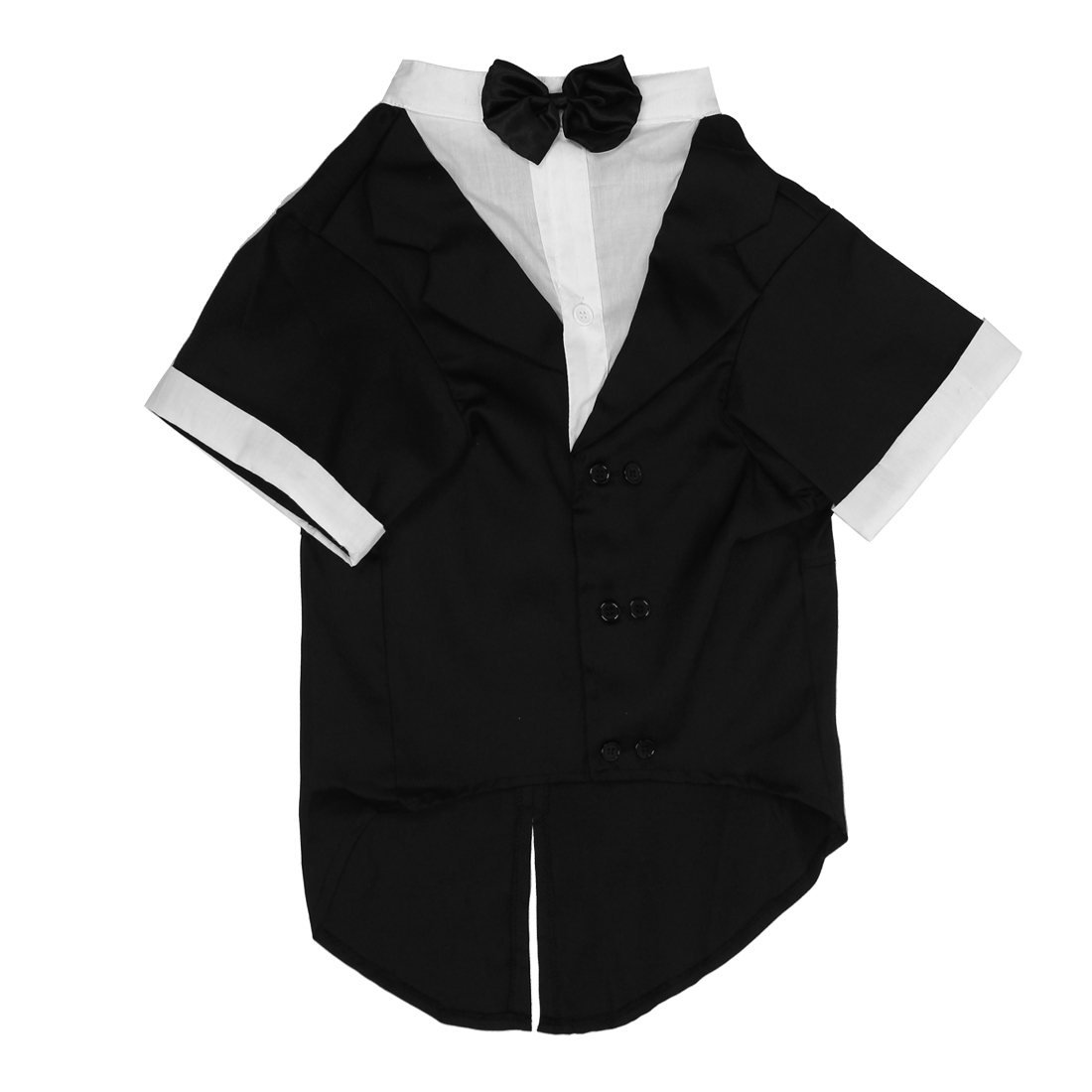 Pet Puppy Mens Suit Western Style Wedding Tuxedo Costume Apparel Black Size 3XL