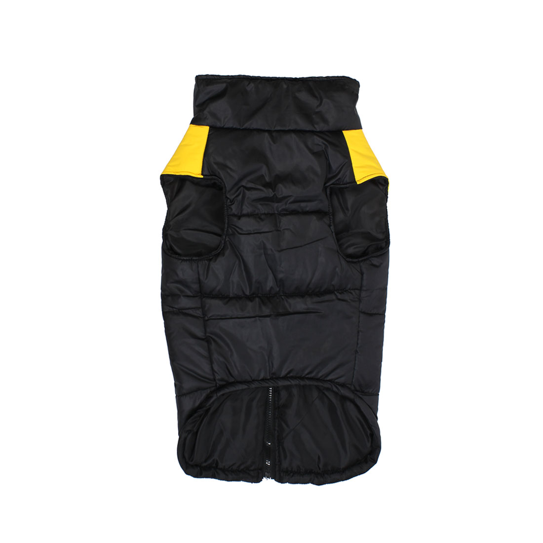 Pet Dog Puppy Jacket Winter Coat Clothes Warm Vest Apparel Yellow Size 3XL