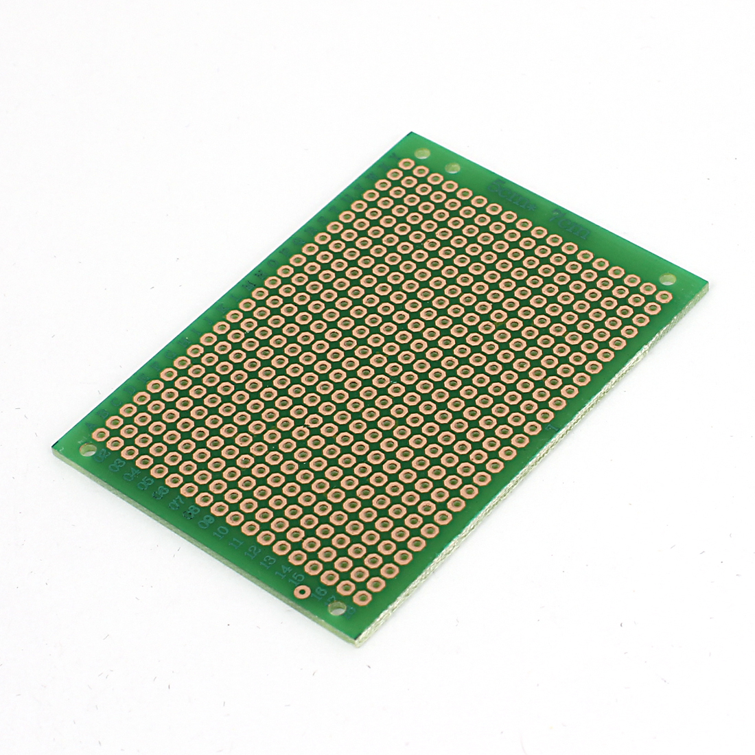 Prototype Paper PCB Universal Experiment Matrix Panel Circuit Board 5x7cm Green