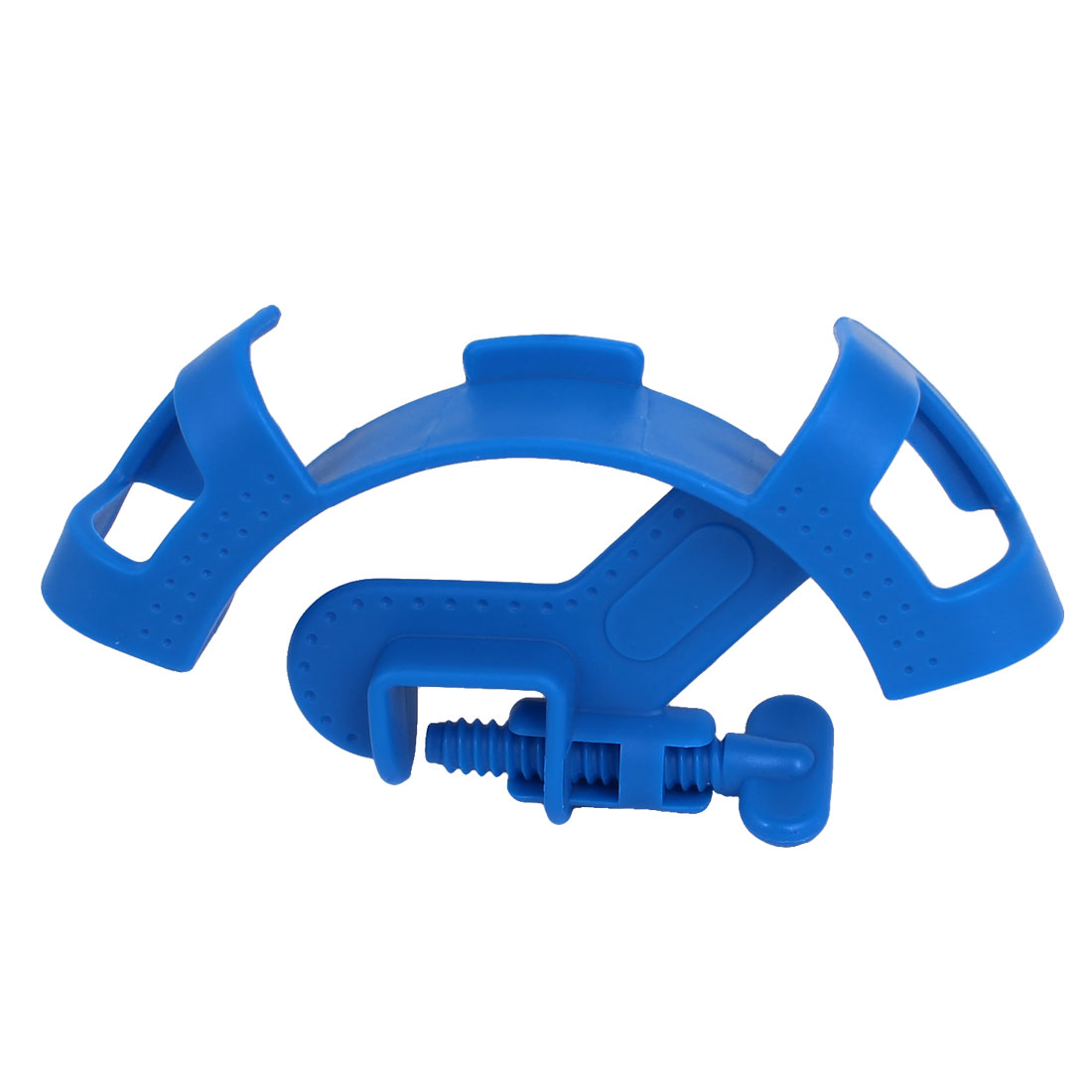 Mount Pipe Filtration Hose Holder Filter Tube Fixture Blue for Aquarium Fish Tank