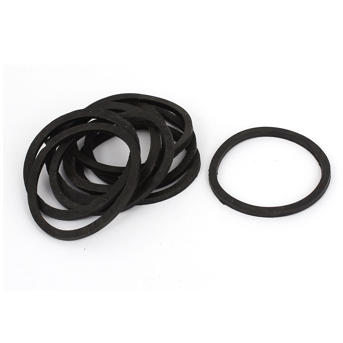 Water Pipe Tube Hose Connector Seal Ring Gasket Washer 45x40x2.5mm 9Pcs