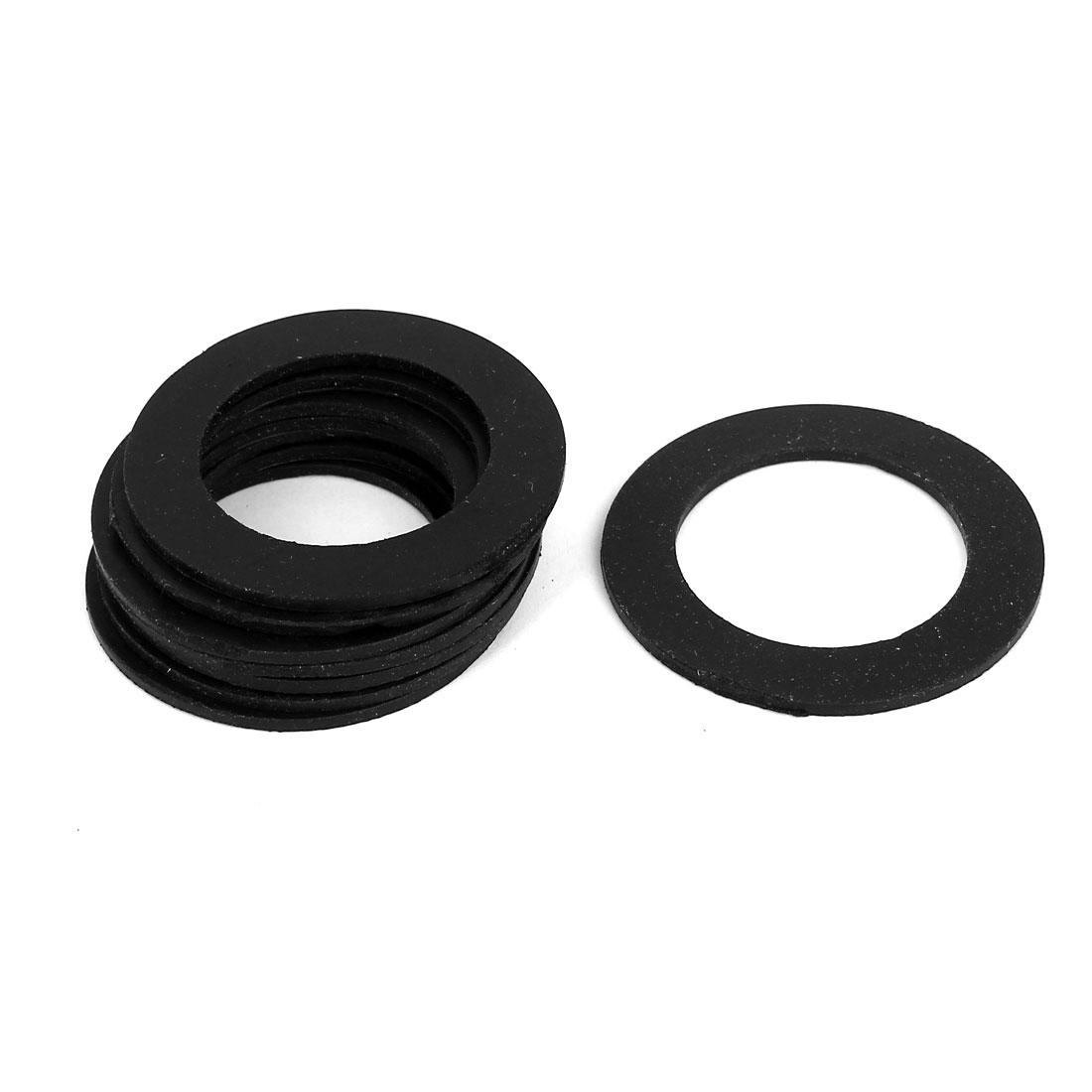 Rubber Gasket Sealing Seal O Ring 49x33x8mm 8Pcs Black for Water Meter