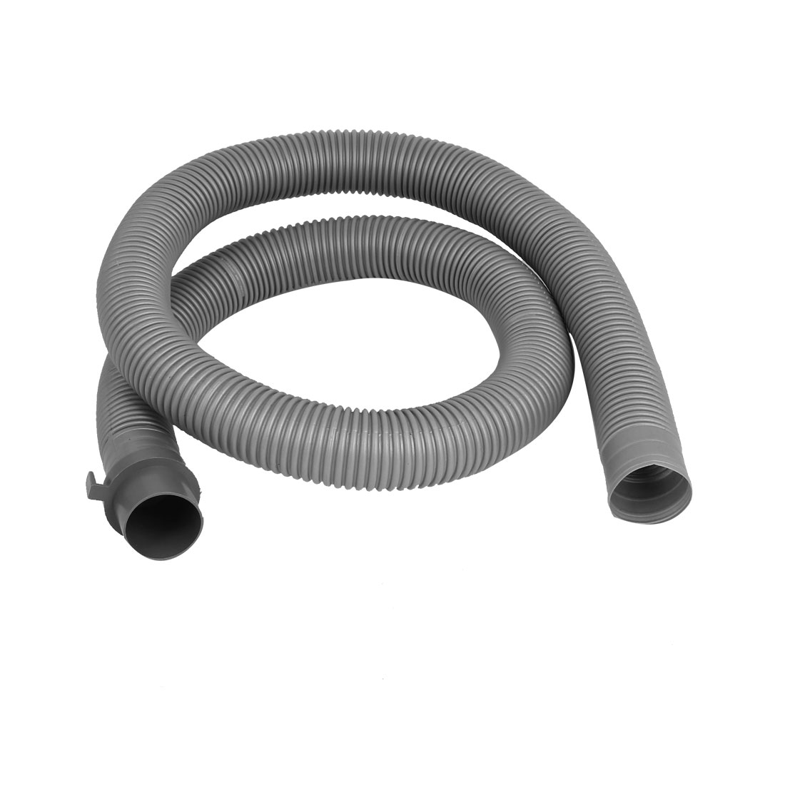 Washer Washing Machine Waste Water Drain Hose Pipe 1.2m 4Ft Gray
