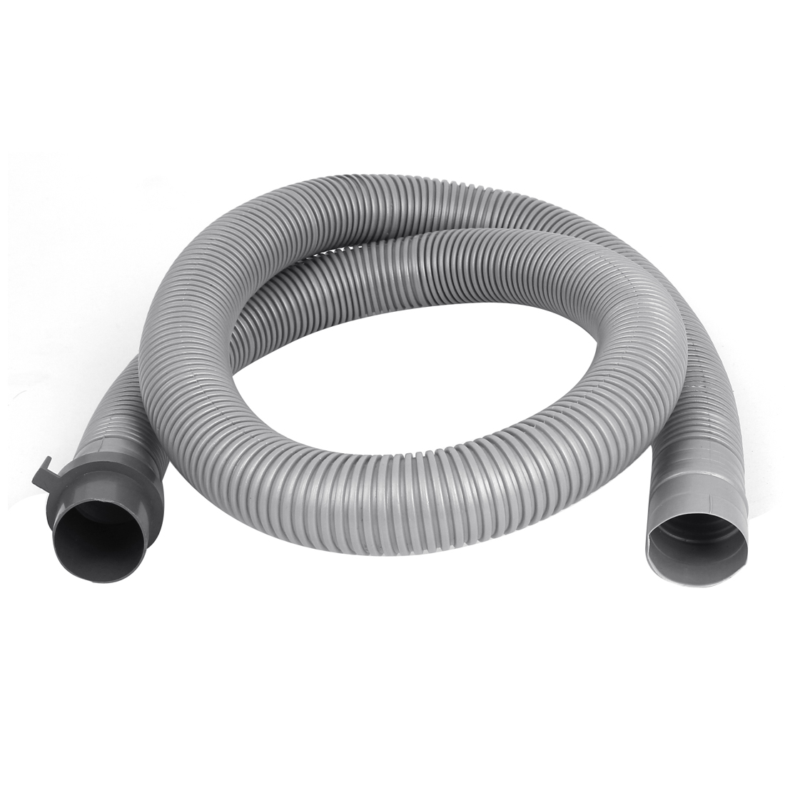 Plastic Washer Washing Machine Waste Water Drain Hose Pipe 4Ft Gray
