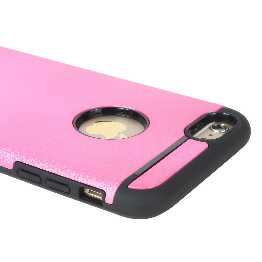 Shockproof Rugged Hybrid Rubber Hard Cover Case for Apple iPhone 6 Plus 5.5 Fuchsia