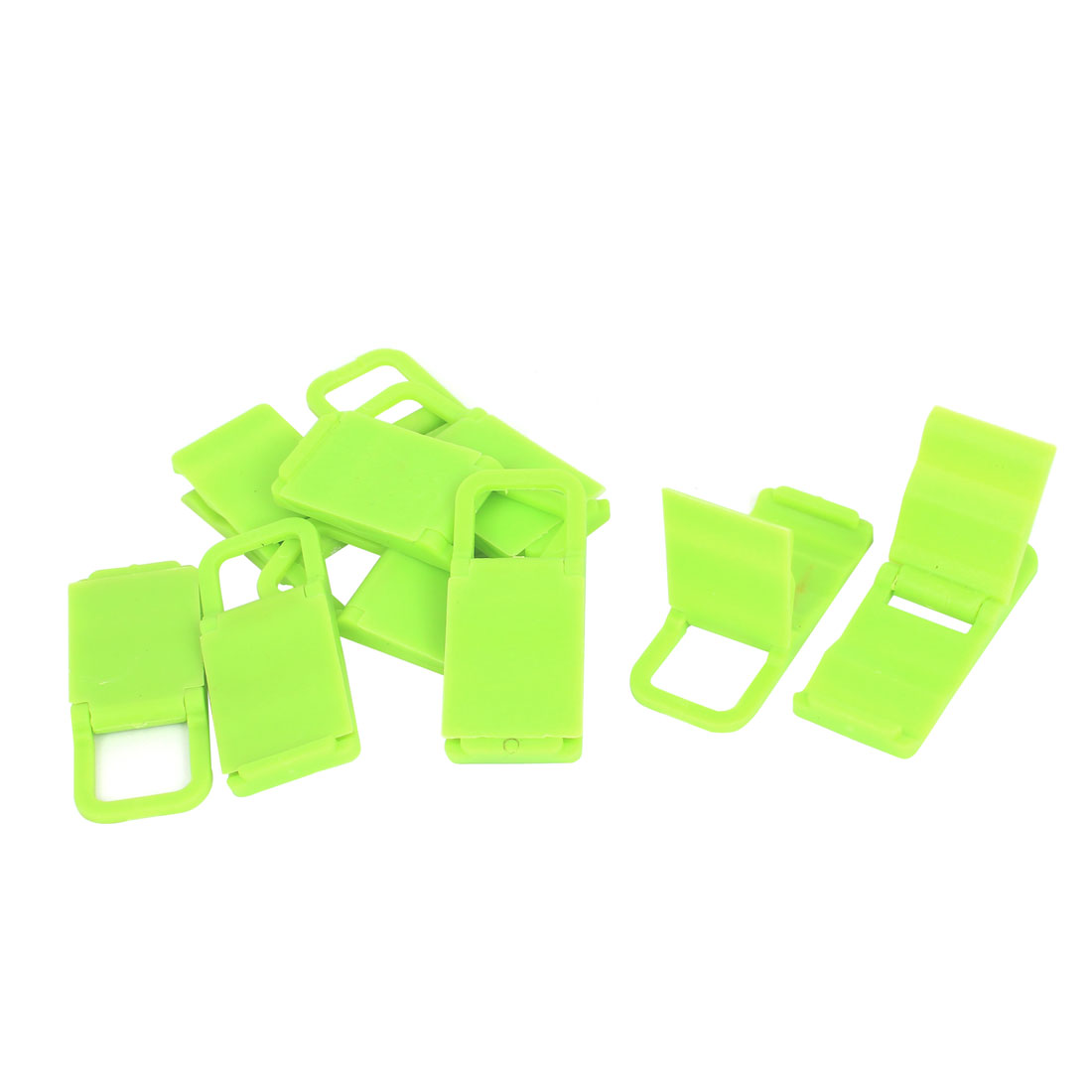 10pcs Beach Chair Mobile Phone Folding Holder Stand Bracket Support Green