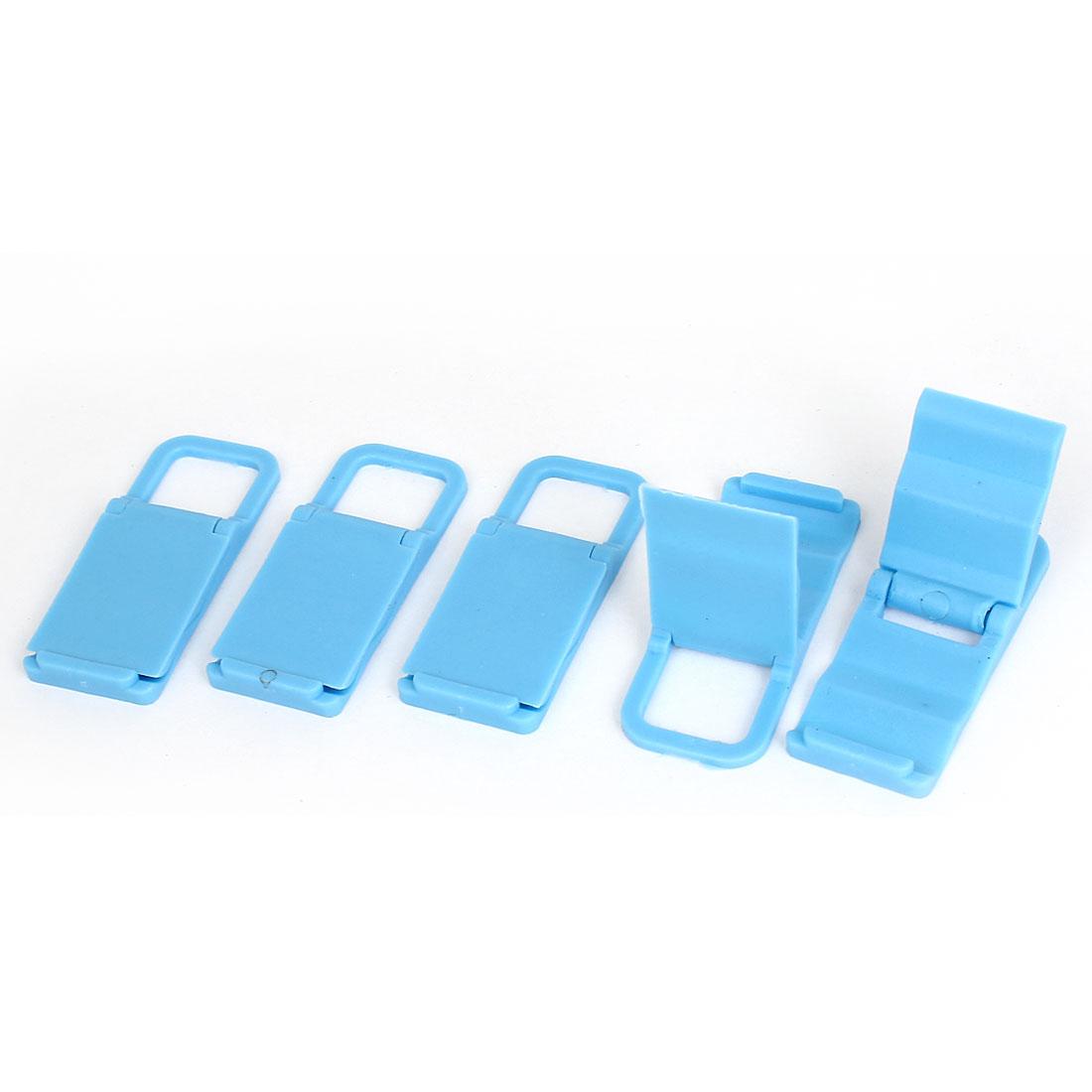 5pcs Desktop Foldable Chair Universal Mobile Phone Holder Stand Bracket Blue