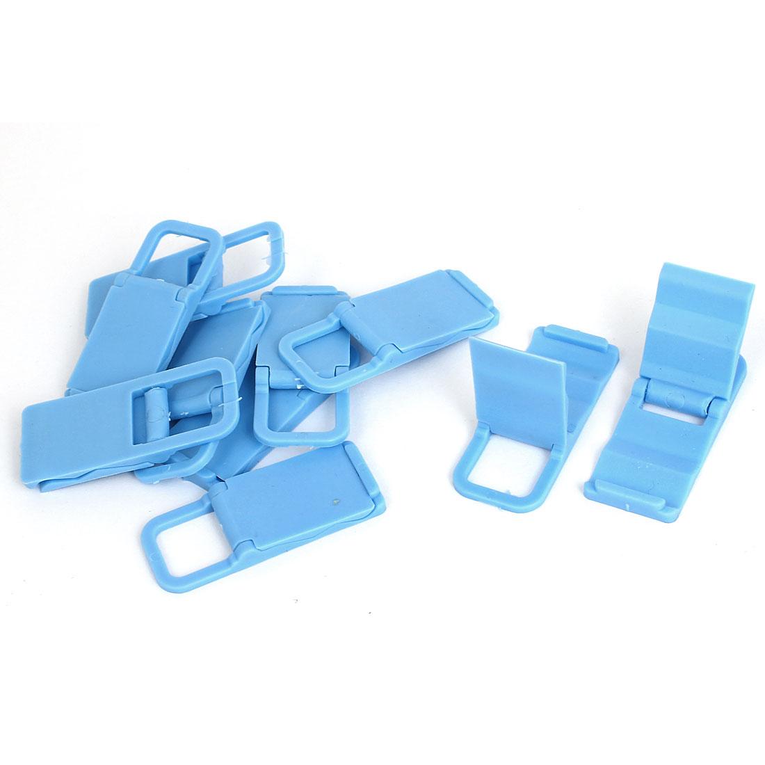 10pcs Beach Chair Mobile Phone Folding Holder Stand Bracket Support Blue