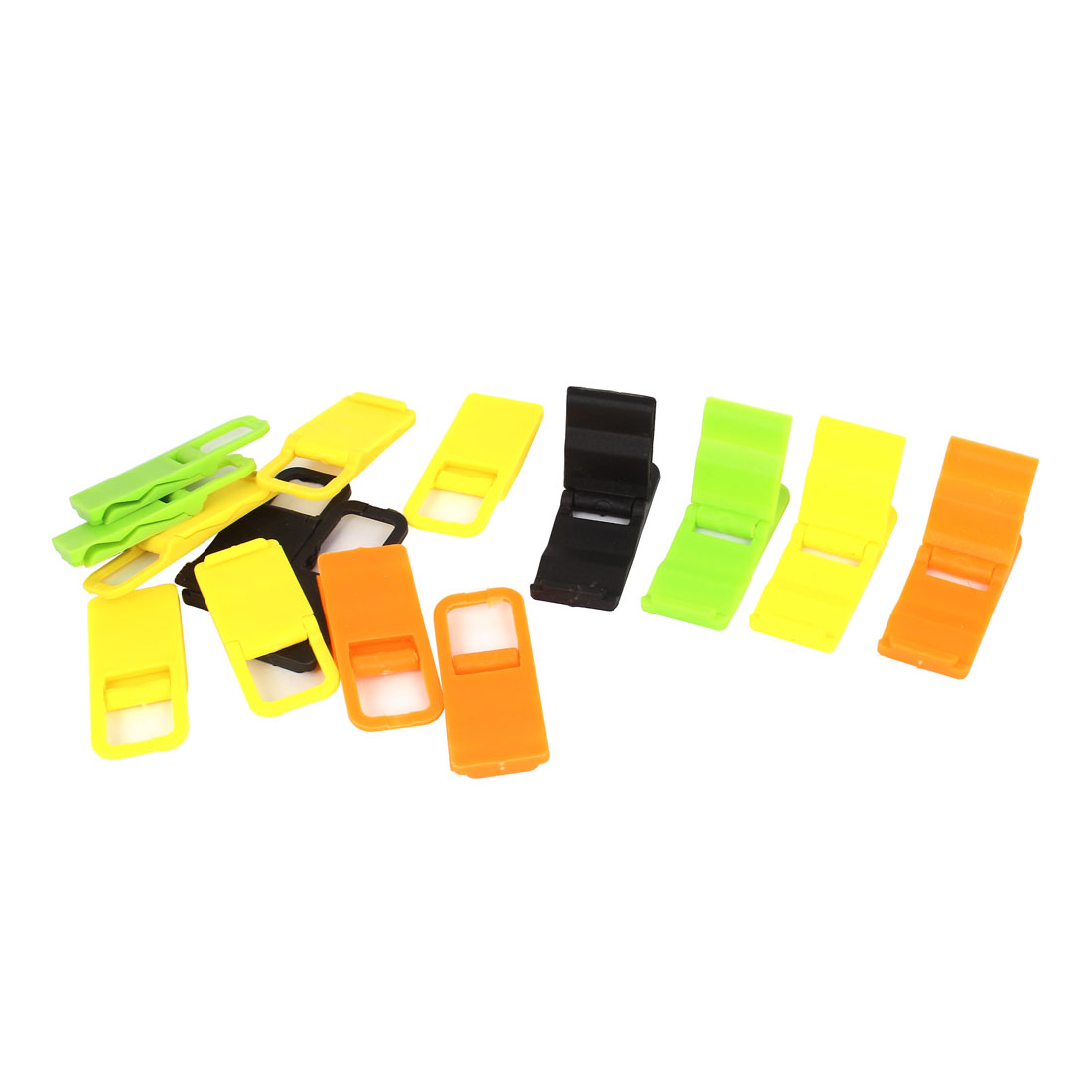 15pcs Beach Chair Mobile Phone Folding Holder Stand Bracket Support Multicolor