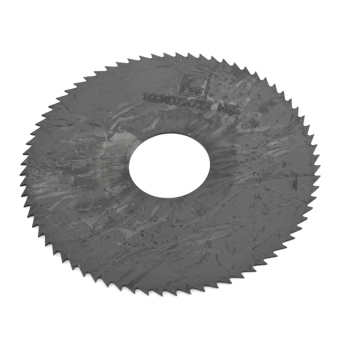 100mm x 0.6mm HSS 72 Teeth Milling Slotting Cutting Tool Slitting Saw