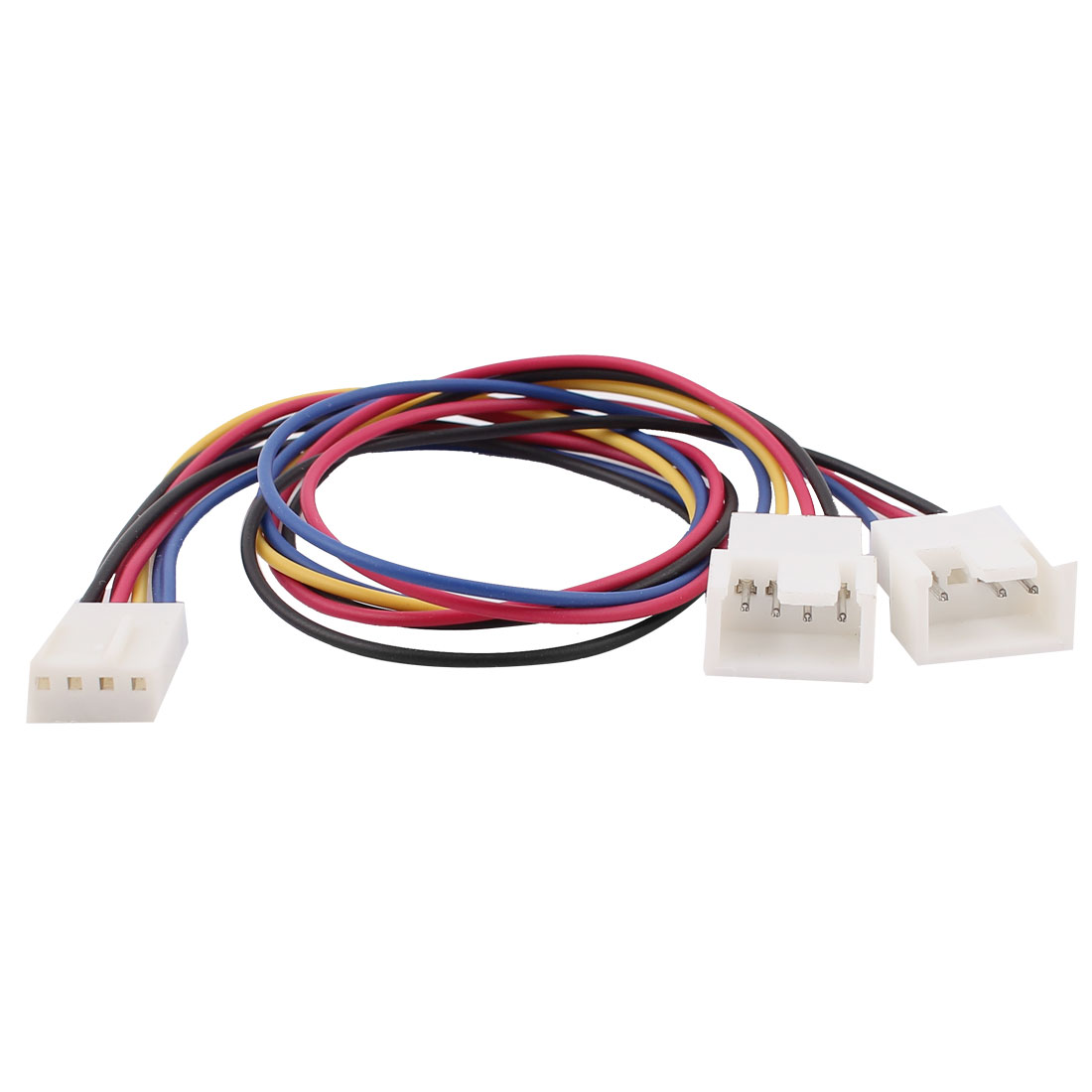 27cm 3/4 Terminal Y Splitter PWM Computer PC Fan Power Cable Adapter
