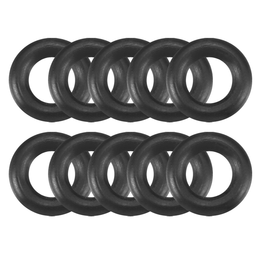 10Pcs Anti Noise Vibration Rubber Screw O-Ring Seal Washers for Case Fan