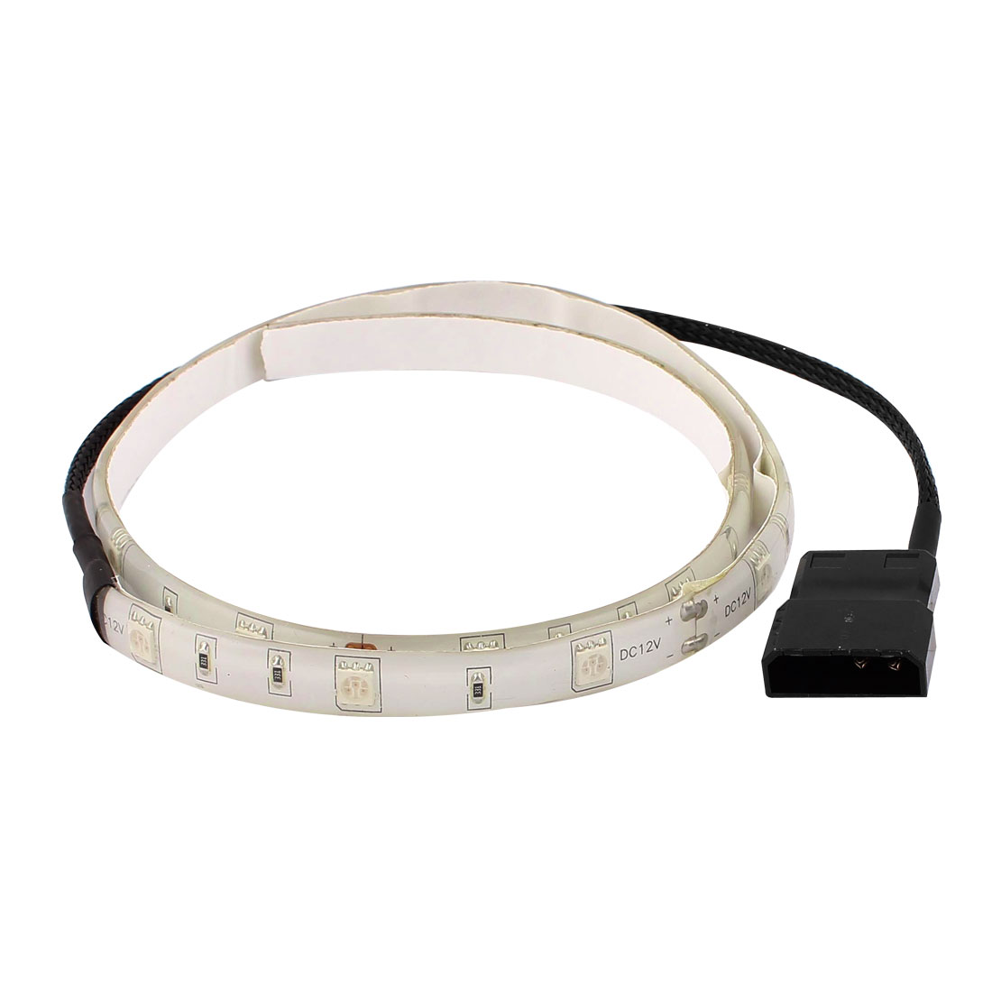 PC Computer Case Red Lamp 18 LEDs Self-adhesive Led Strip Light 60cm