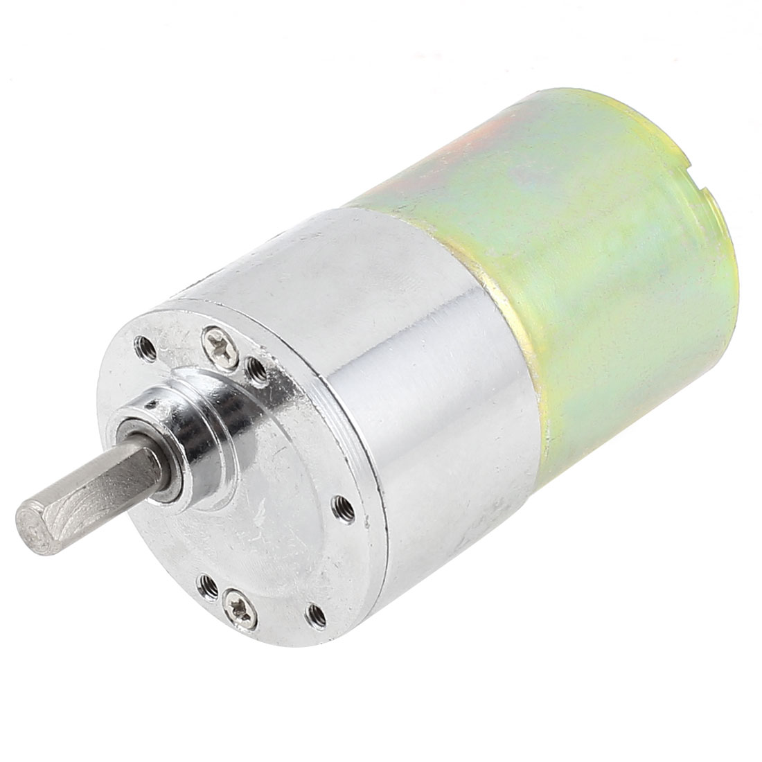 DC 12V 5000RPM 6mm x 15mm Shaft High Torque Speed Reduce Gear Box Motor