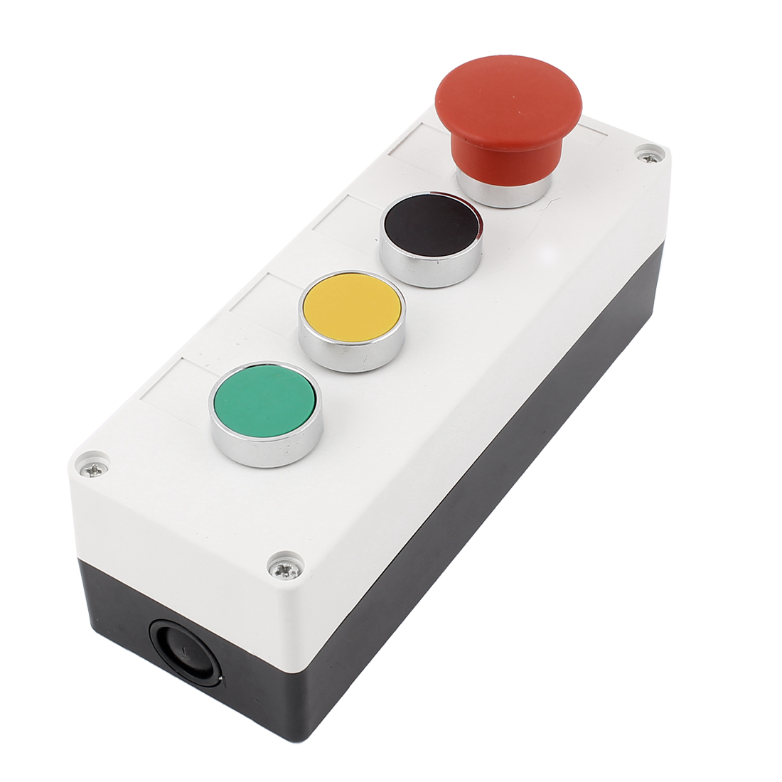 AC 660V 10A Momentary Pushbutton Push Button Switch Control Station Box
