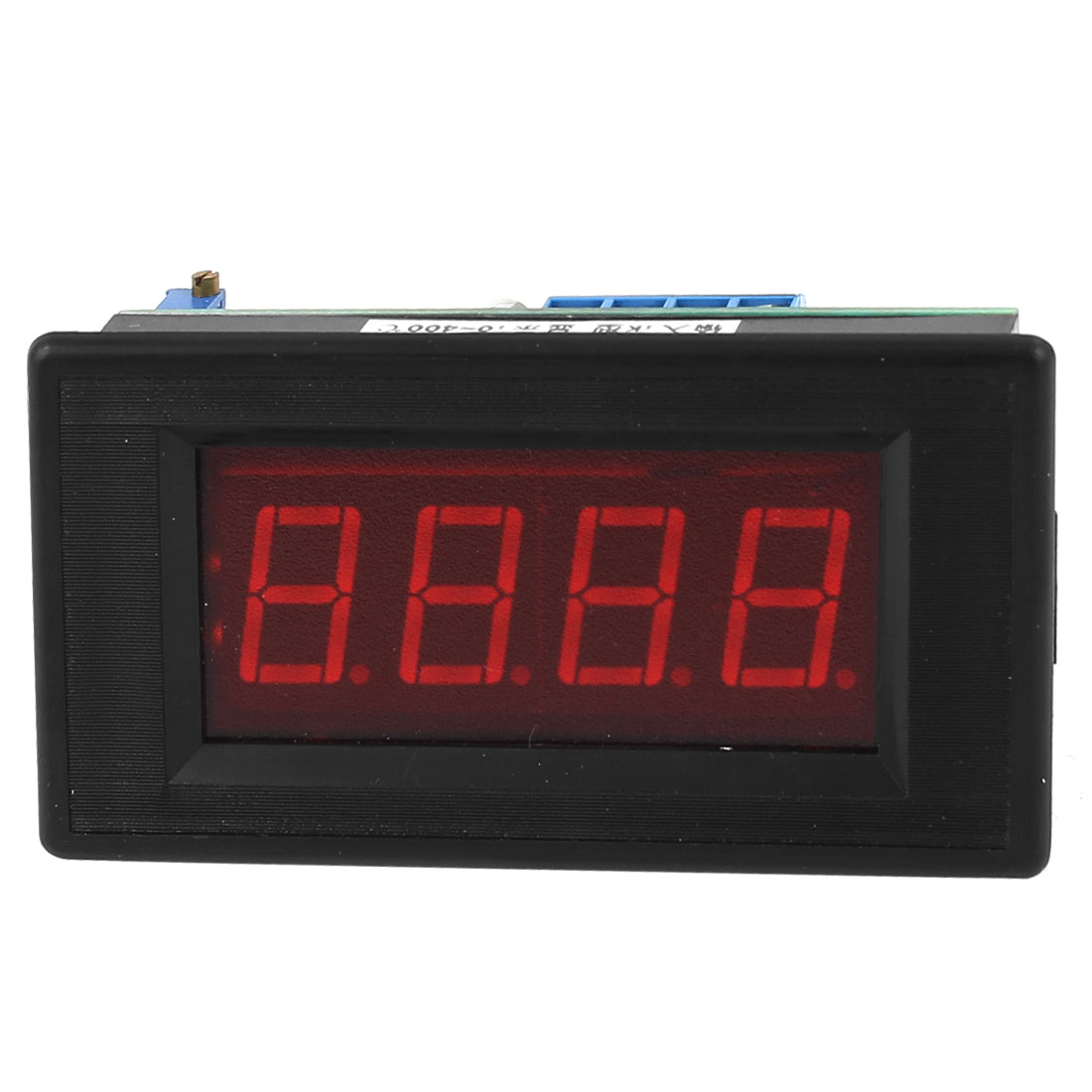 DC 5V Red LED Display 0-400 Degree Celsius K Type Thermometer Panel Temperature Meter
