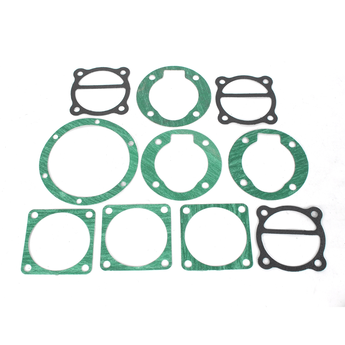 10 in 1 Air Compressor Cylinder Head Base Valve Plate Sealing Gaskets