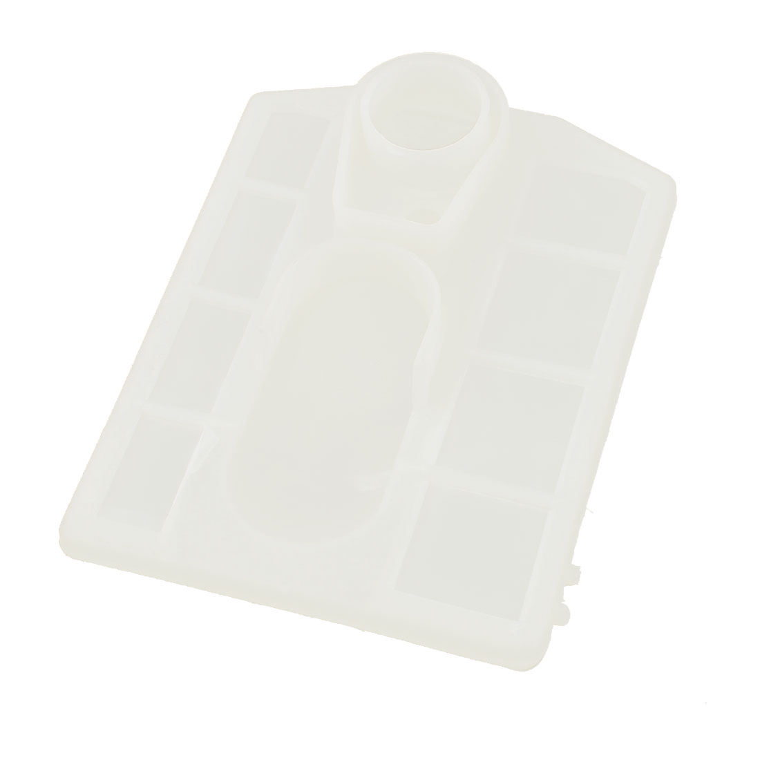 20mm Inlethole Dia Clear Plastic Frame Chainsaw Air Filter Cleaner