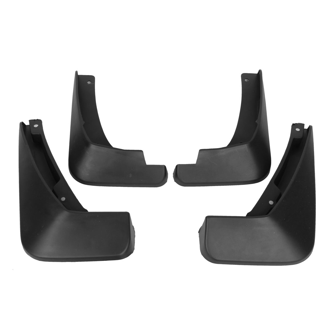 4PCS Front Rear Splash Guards Plastic Mud Flaps Set for 2015 Chevrolet Cruze