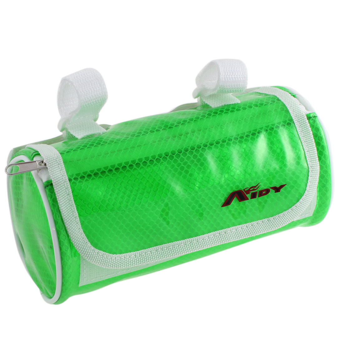Cycling Bike Bicycle Front Pannier Basket Water Resistant Handlebar Bar Pouch Bag Clear Green