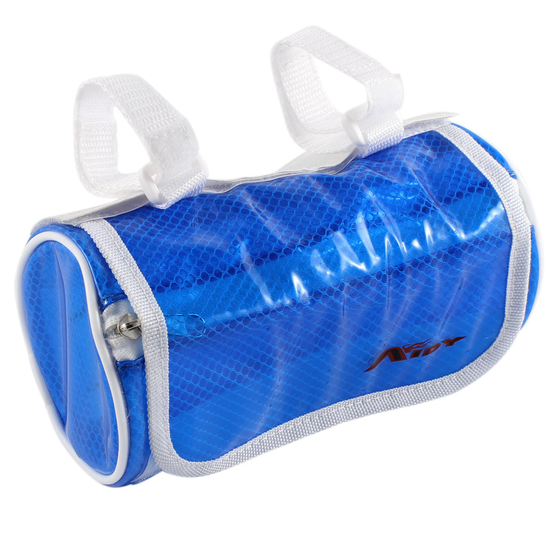 Cycling Bike Front Pannier Basket Water Resistant Handlebar Bar Pouch Bag Clear Blue