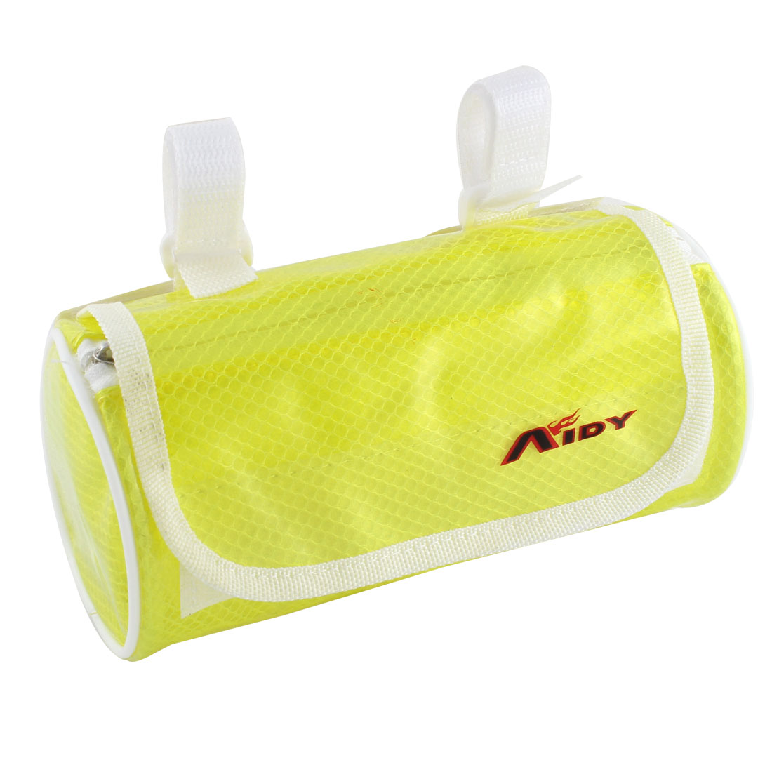 Cycling Bike Bicycle Front Pannier Basket Water Resistant Handlebar Bar Pouch Bag Clear Yellow