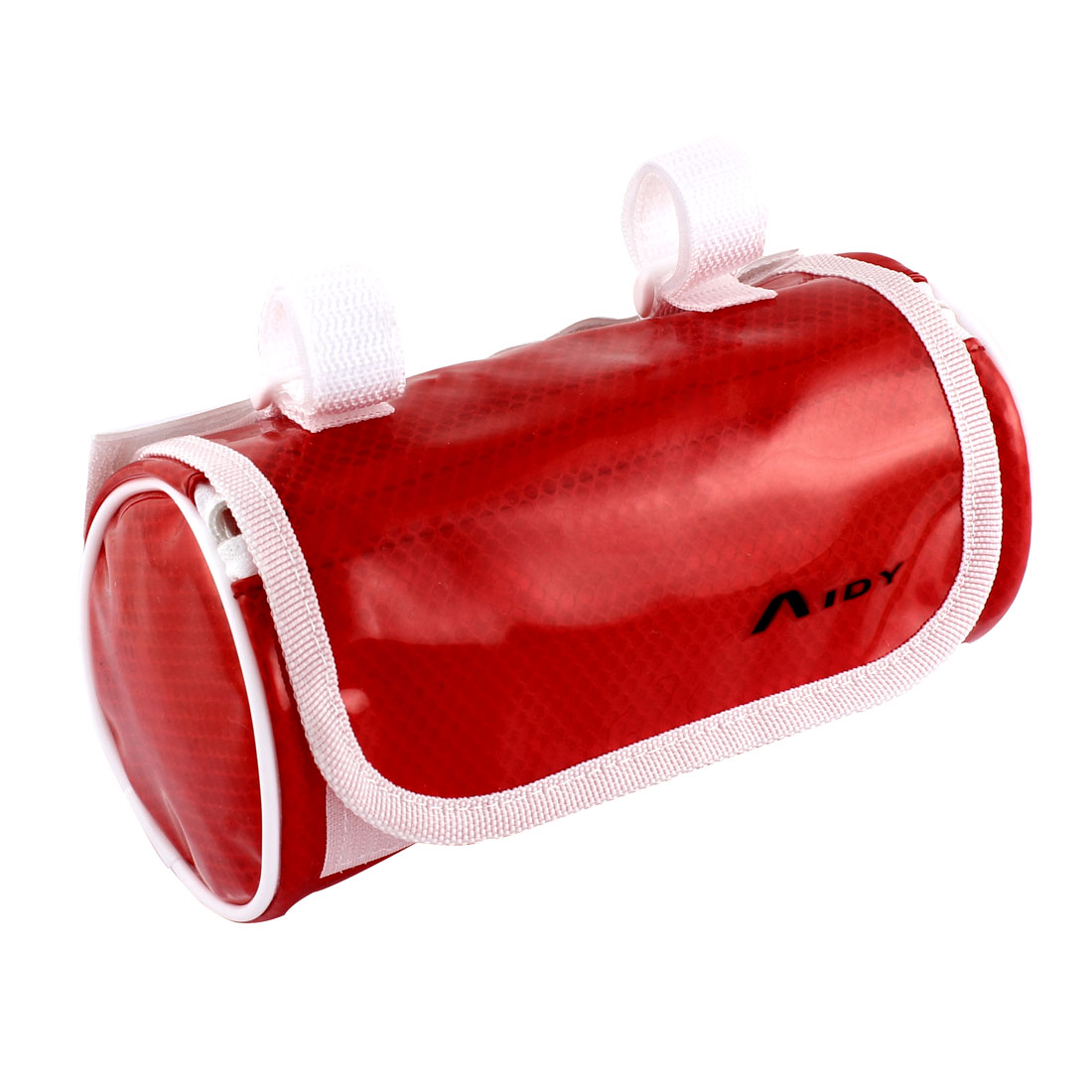 Cycling Bike Bicycle Front Pannier Basket Water Resistant Handlebar Bar Pouch Bag Clear Red