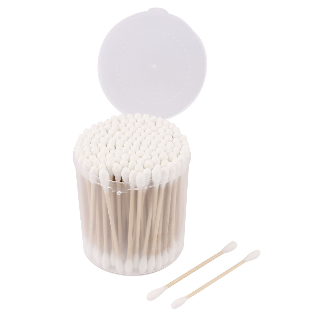 150pcs Disposable Double Ends Cosmetic Make Up Cotton Buds Swabs
