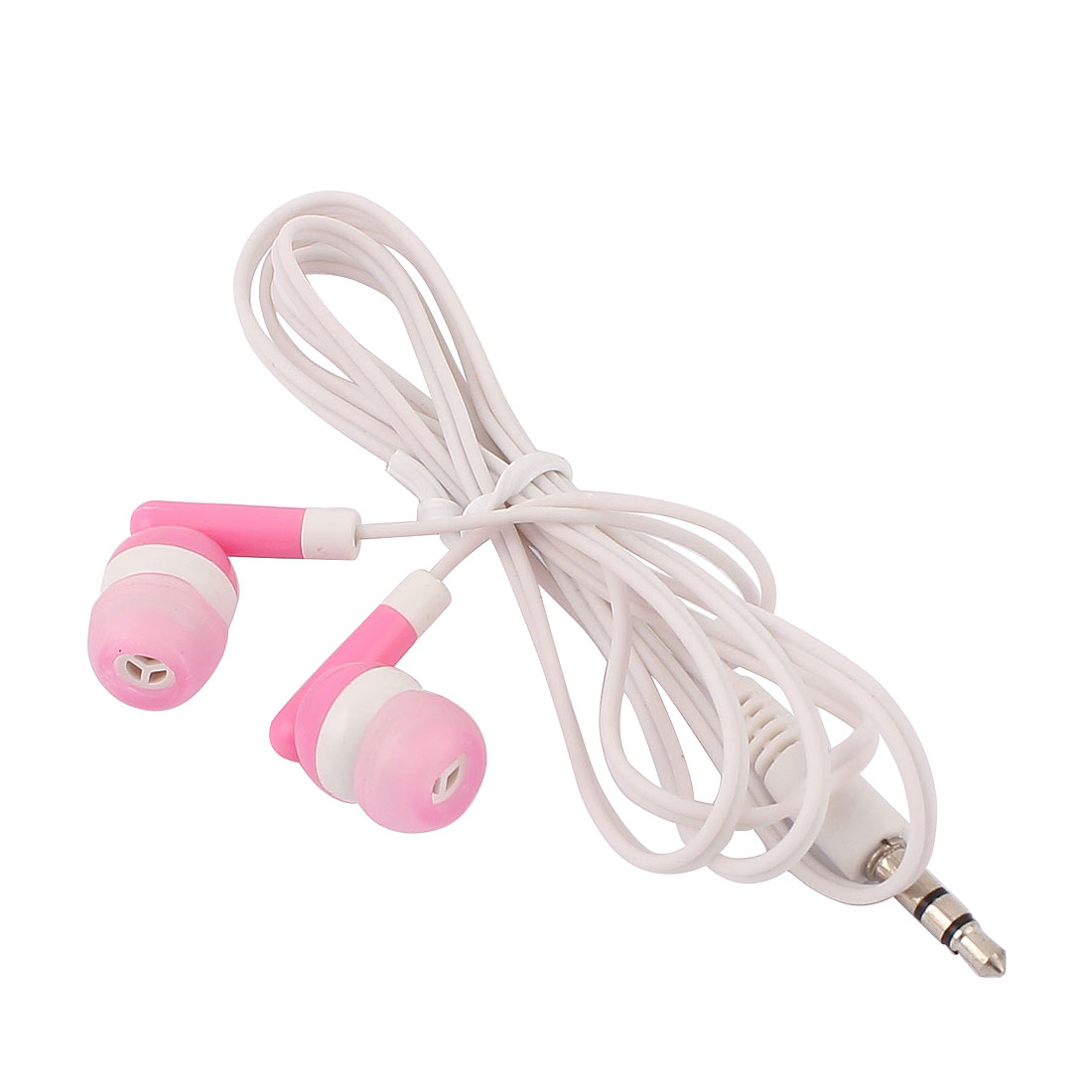 Smartphone Stereo Remote Mic In-Ear Headset Headphone Earbud Earphone Pink