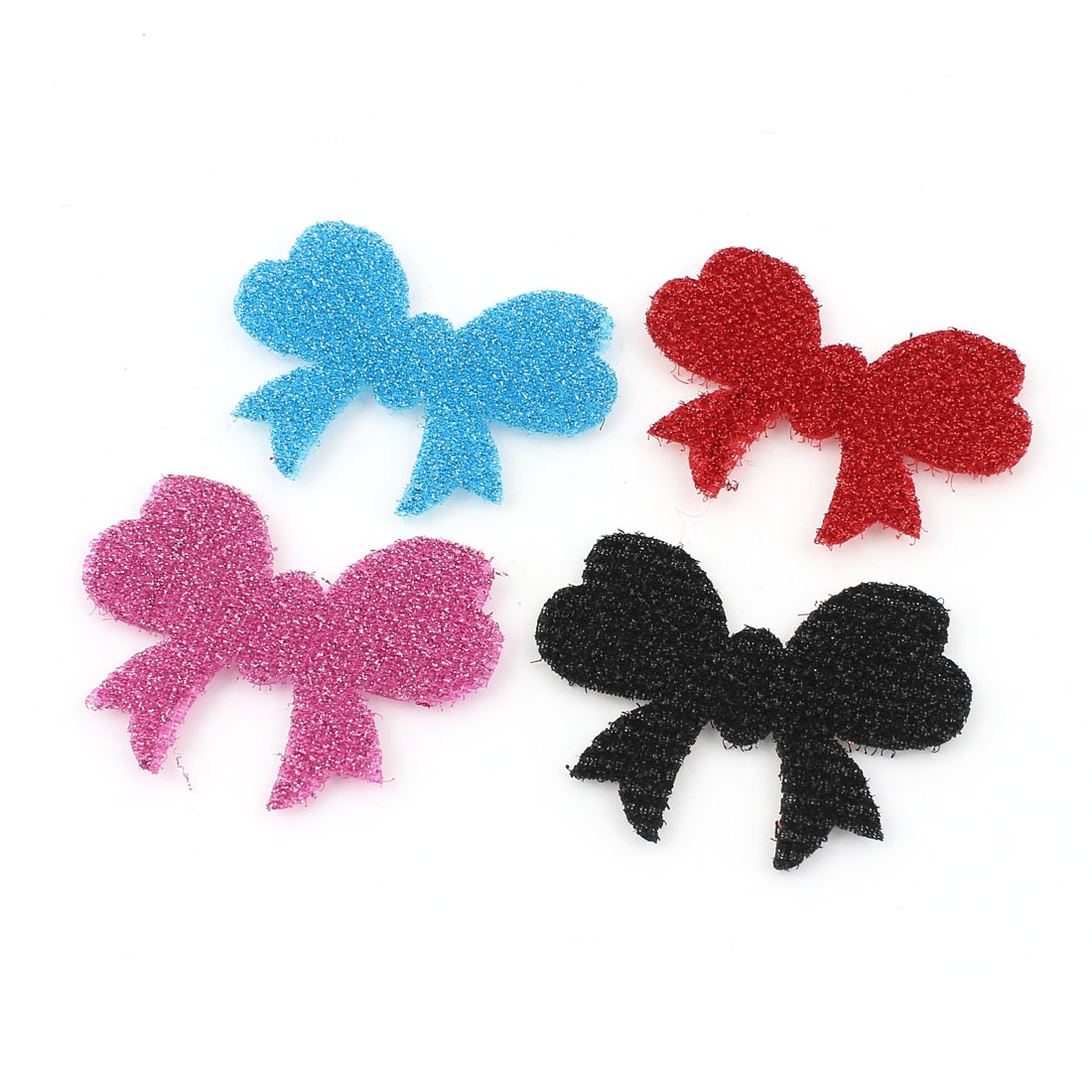 Bowtie Design Magic Hair Fringe Holder Stabilizer Makeup Grip Pad Sticker 4PCS