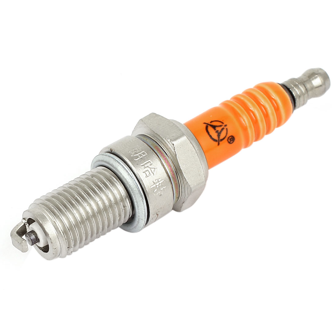 D8TC Orangered Spark Plug for Mens Motocycle