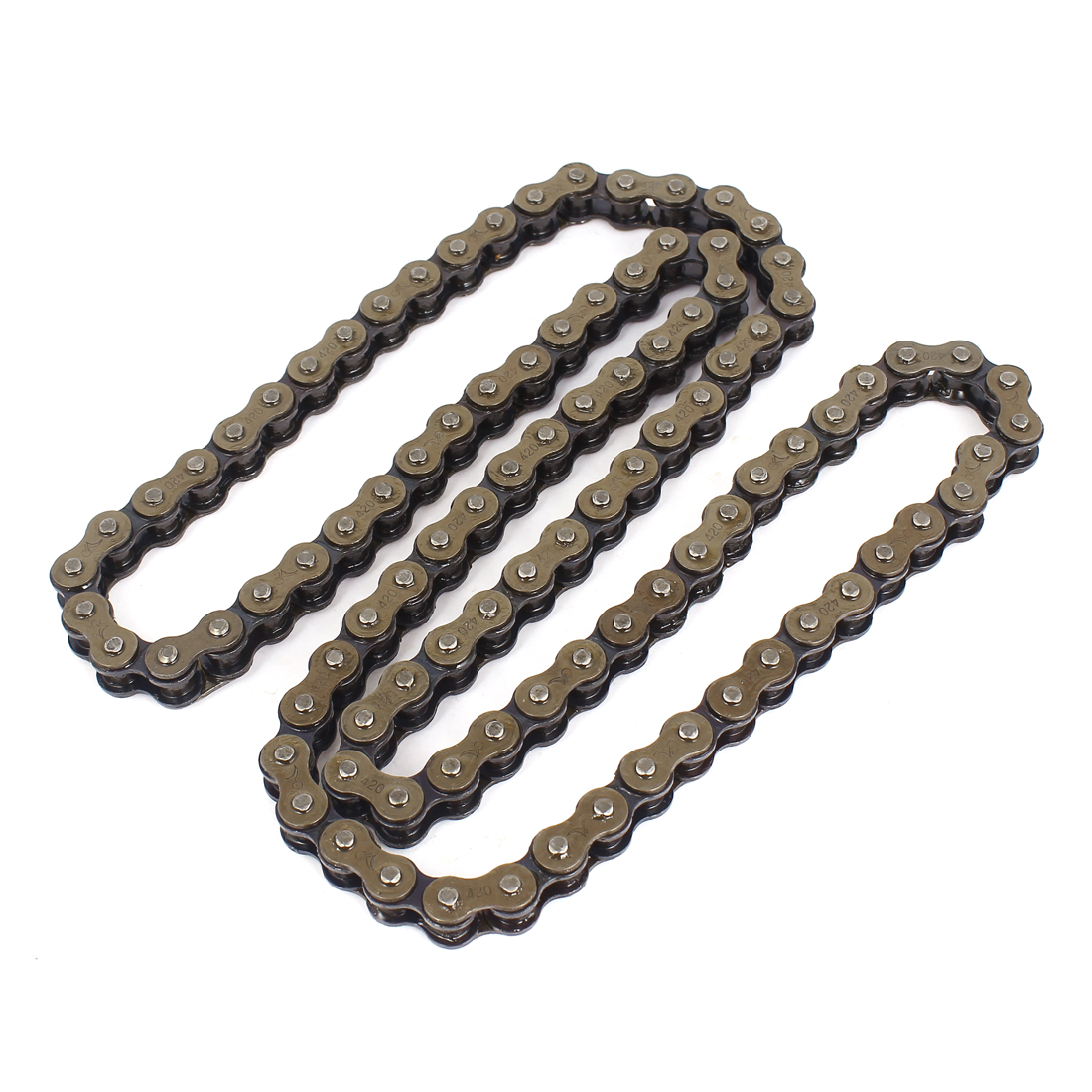 Dark Brown 420x100 O-Ringroller Drive Chain Motorcycle 420 Pitch 100 Links