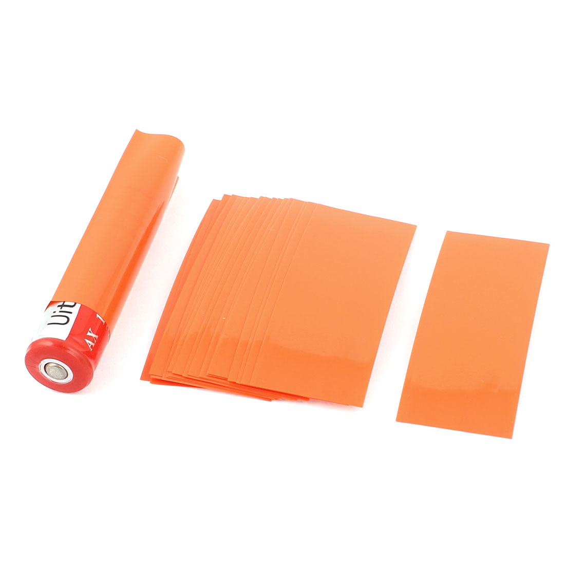 20pcs 29.5mm 18.5mm PVC Heat Shrink Tubing for Single 18650 Battery
