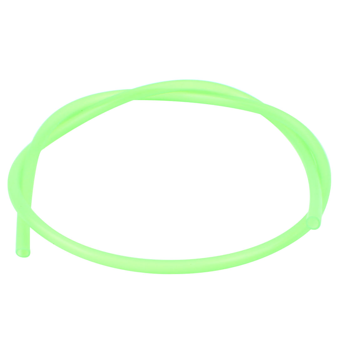 6mm ID x 8mm OD Flexible Hose Silicone Tubing Tube Pipe 3.3ft Green