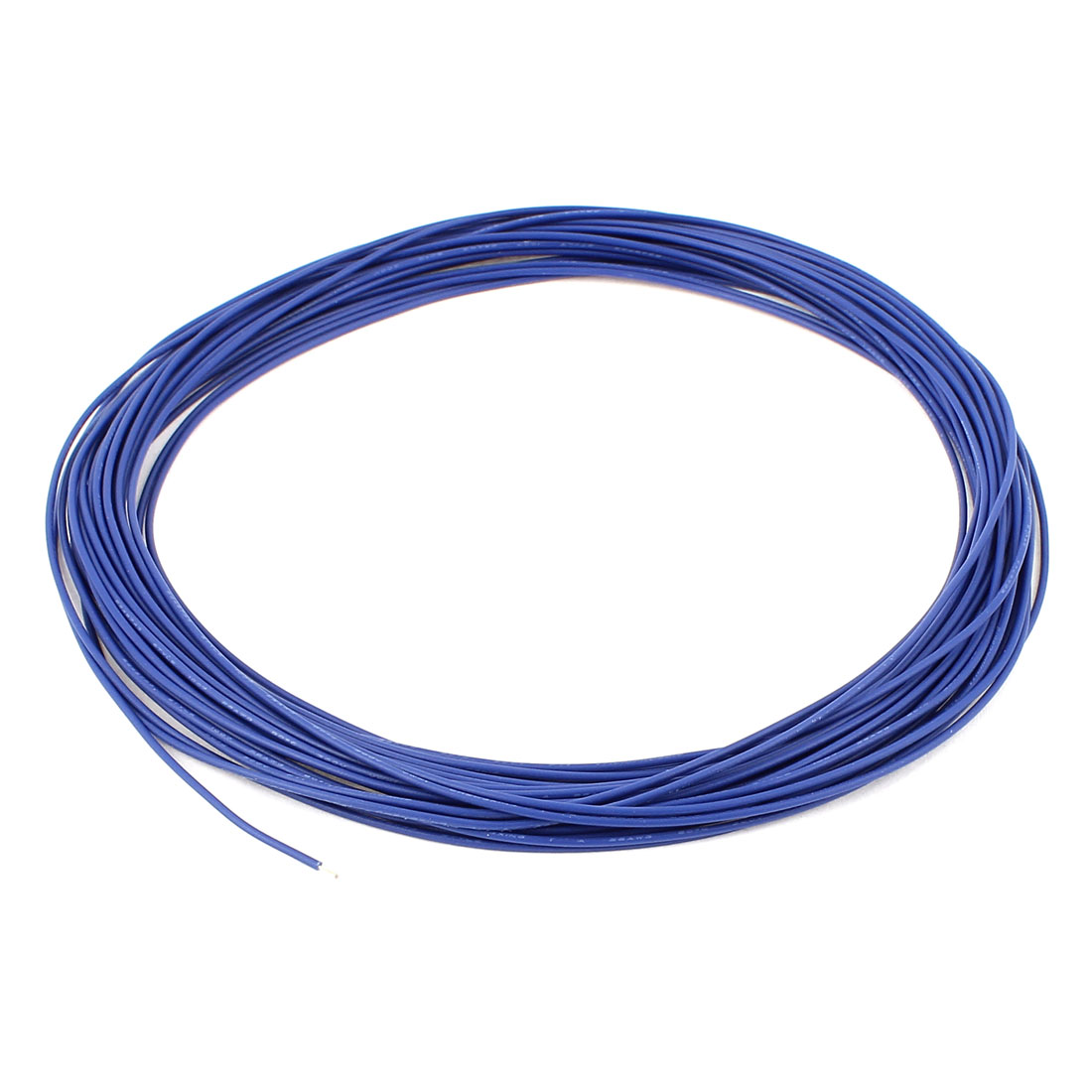 28AWG Tin Plated Stranded Wires UL-1007 Electronic Wire Cable 10M Blue