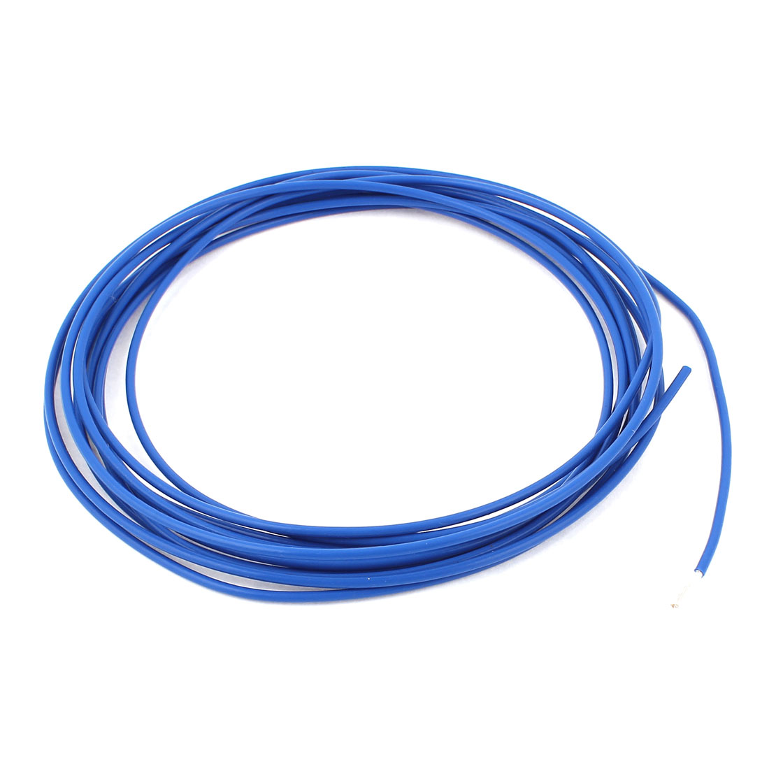 16AWG 1.5mm2 Silver Plated 19 Stranded Wire Power FEP Cable 4M Blue
