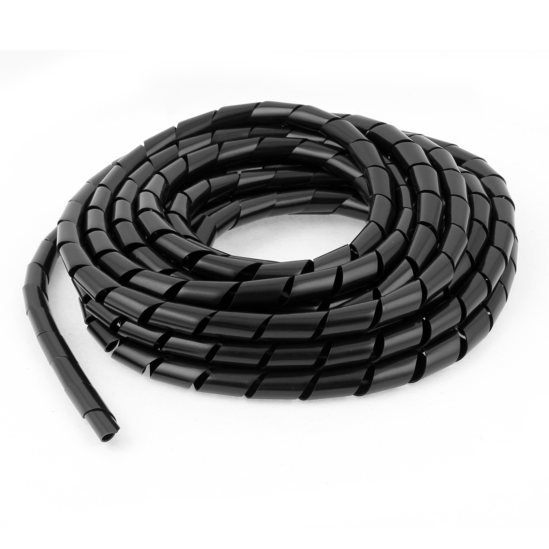 PC Cinema TV Cable Wire Tidy Wrap Organizer Spiral Wrapping Band 12mm 6.5M