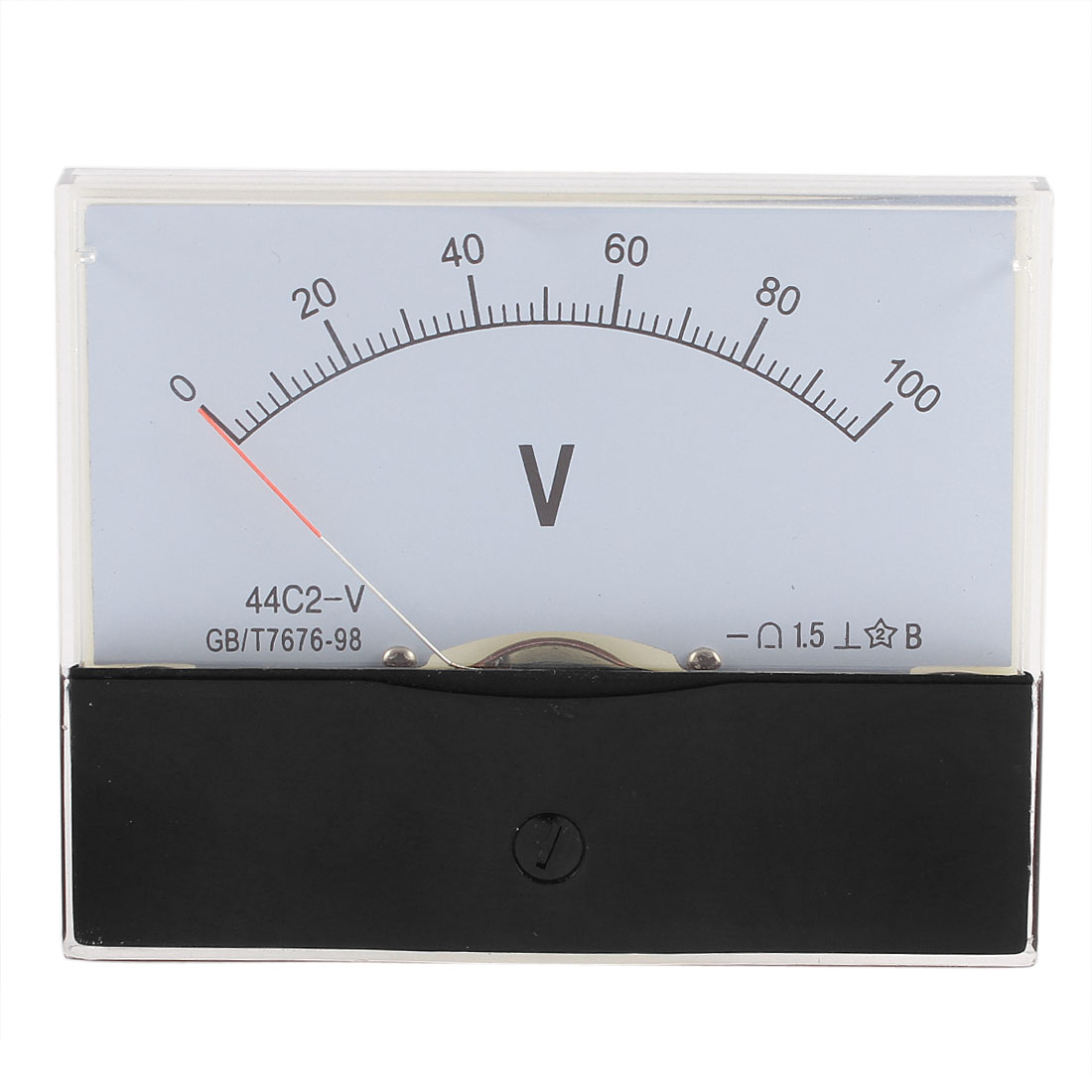 44C2 DC 0-100V Analog Panel Voltmeter Voltage Meter Measuring Gauge Class 1.5