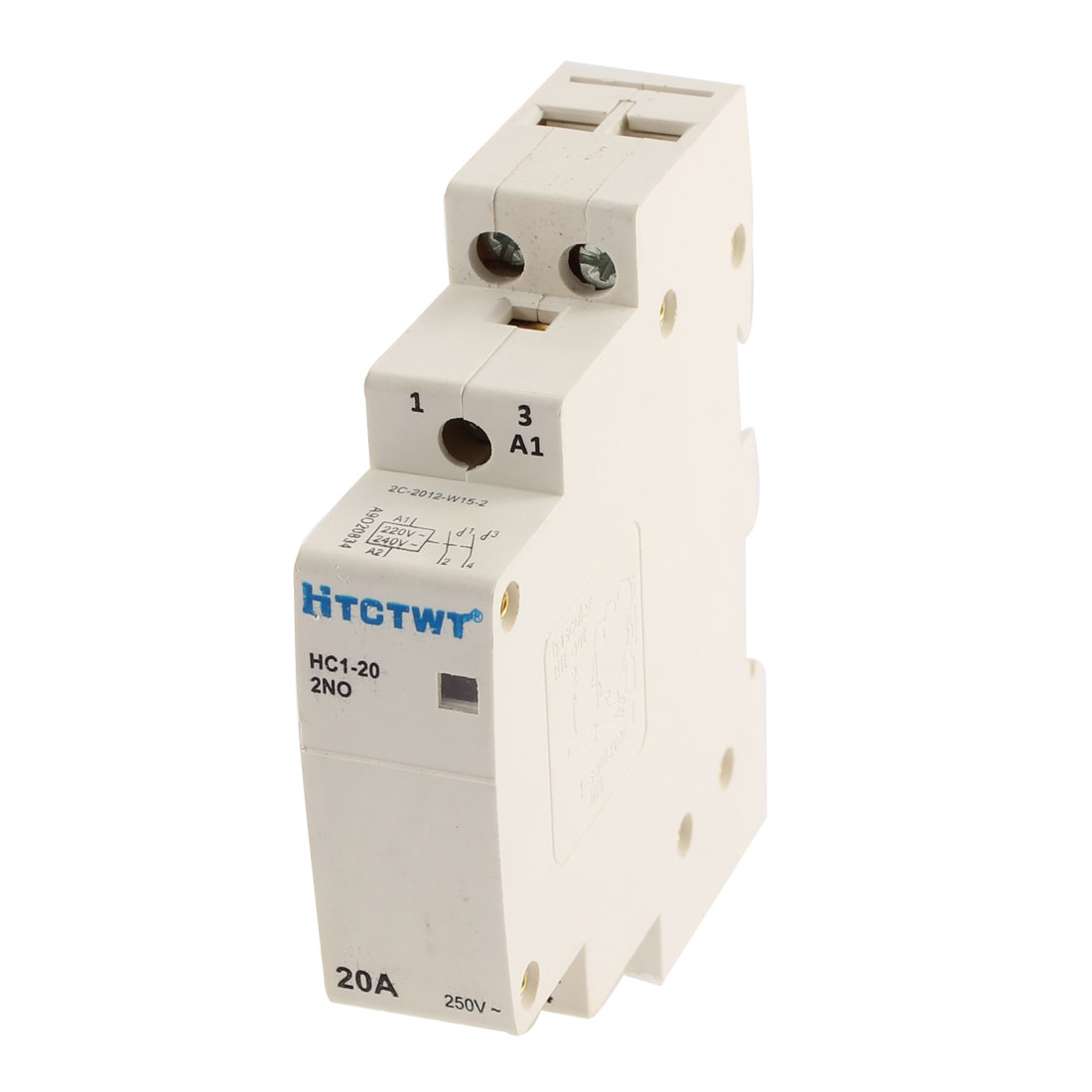 Household Home 2 Poles AC Power Contactor AC 250V 20A HC1-20