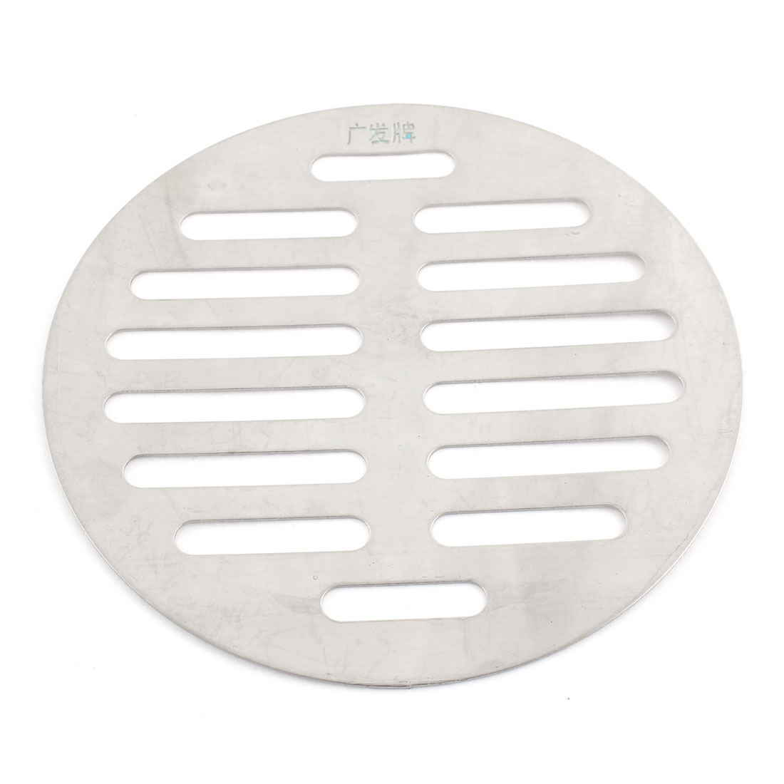 4.4 Inch Stainless Steel Home Kitchen Floor Strainer Drain Cover Gray