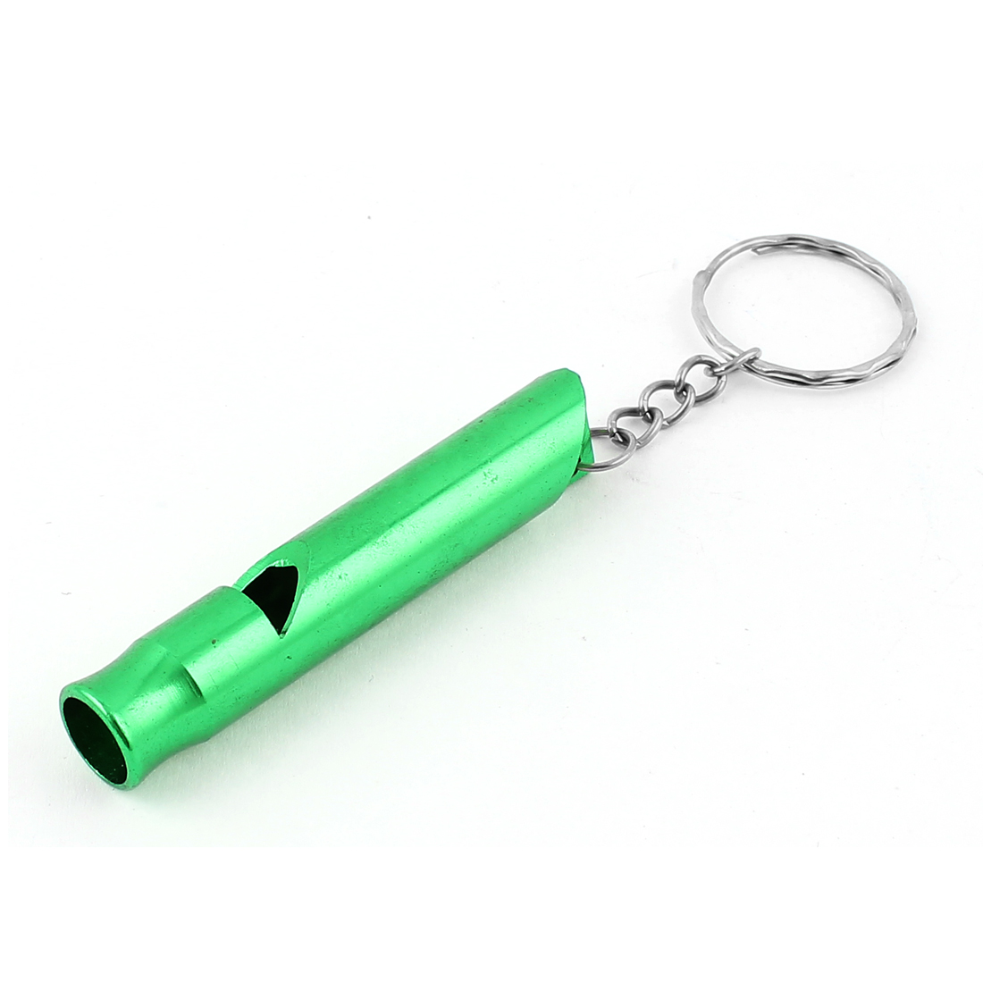 Training Survival Pet Obedience Gift Mini Whistle Pendant Keyring Keychain Green