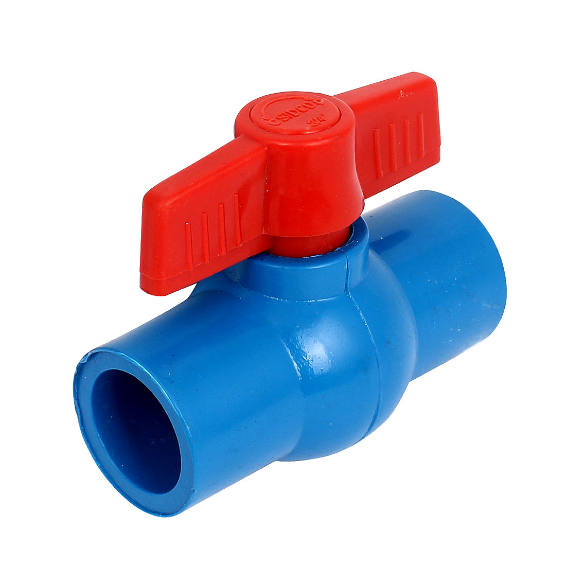 Water Supply 25mm 3/4BSP Full Port U-PVC Ball Valve Pipe Fitting