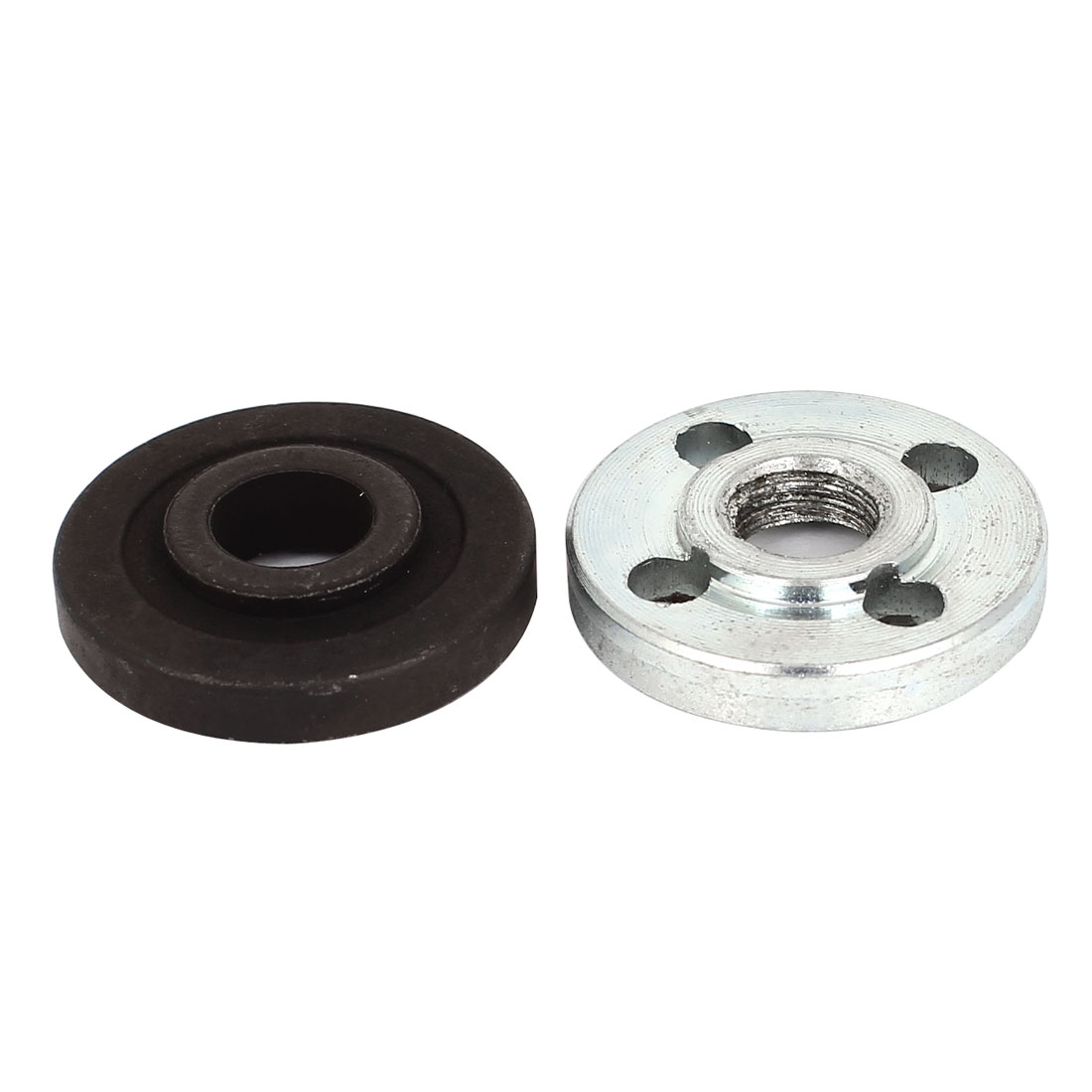 Angle Grinder Fitting Round Clamp Inner Outer Flange 30mm Diameter 2 Pcs