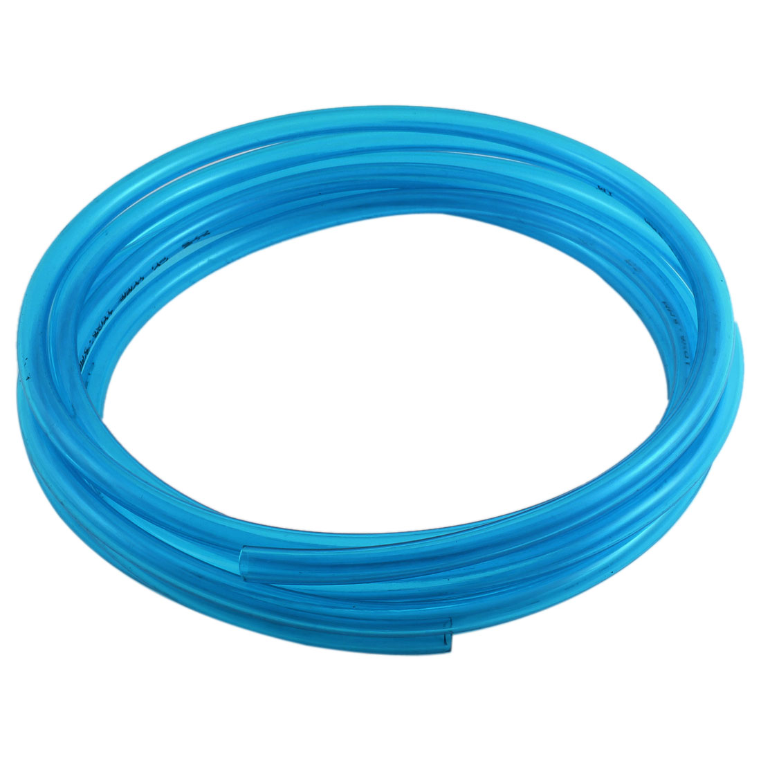 10mm OD 6.5mm ID 4M 13Ft Long Pneumatic Air PU Hose Pipe Tube Clear Blue