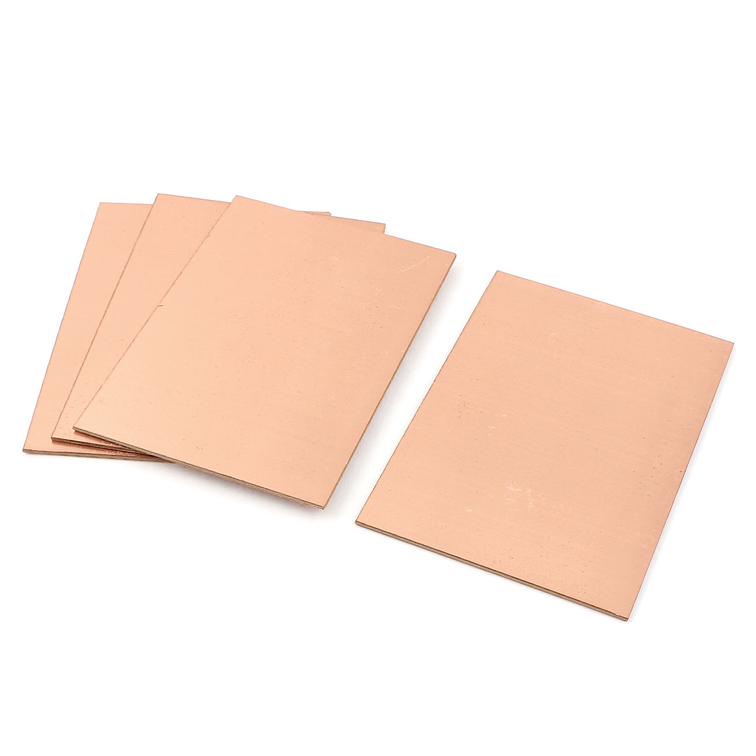 4pcs DIY Single Side Copper Clad Laminate PCB Board Plate 100 x 70 x 1.5mm